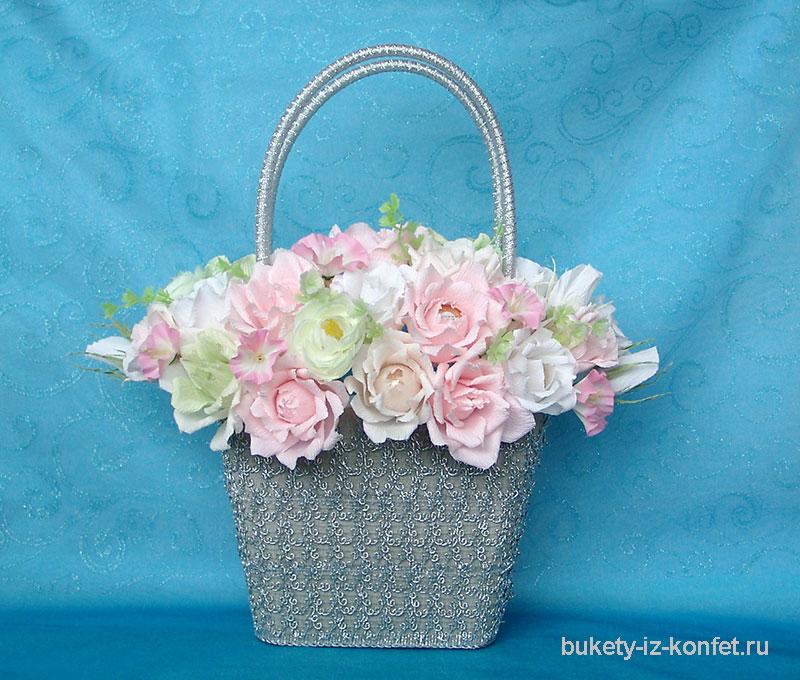 Что сделать с корзиной из под цветов