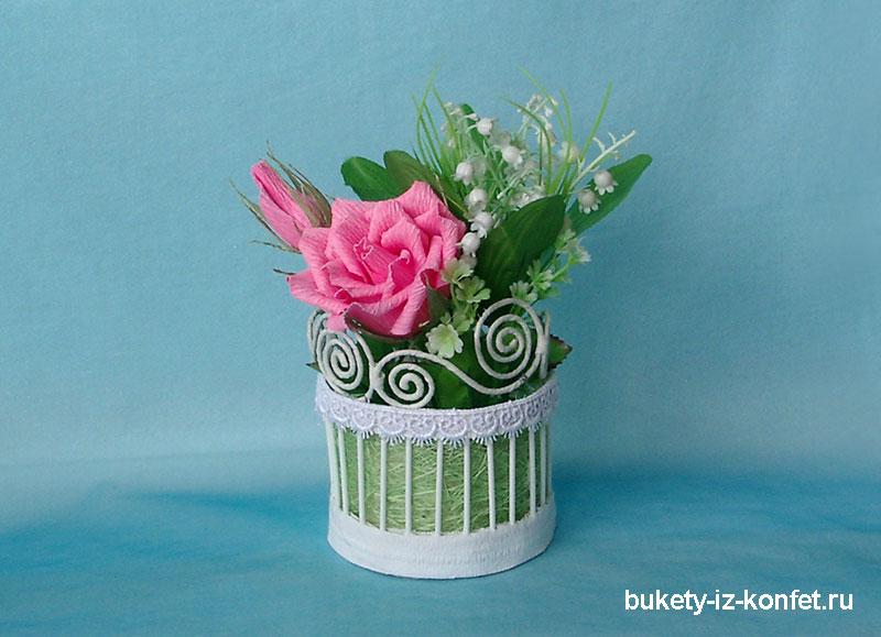 Как своими руками сделать вазочку для цветов и все обо всем