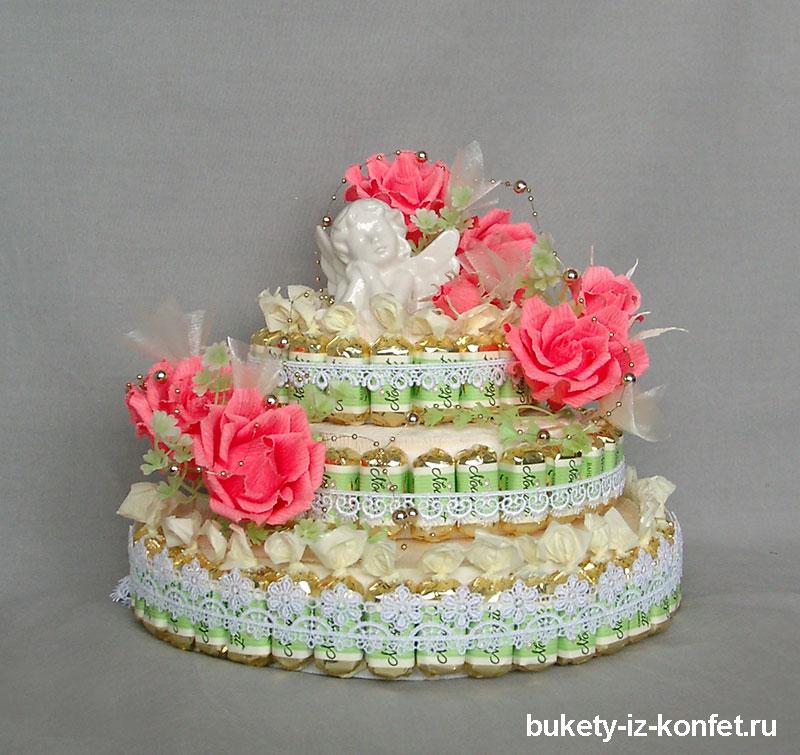 Торт с розами мастер класс