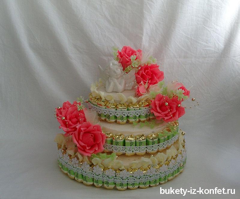 Торт с розами своими руками