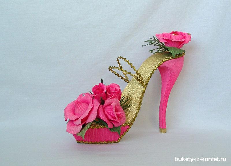 Как сделать туфли для конфет 861