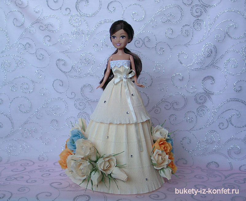 Кукла из конфет фото галерея