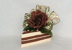 Пирожное из конфет мастер класс