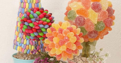 3 креативных идеи создания конфетного дерева с пошаговыми фото